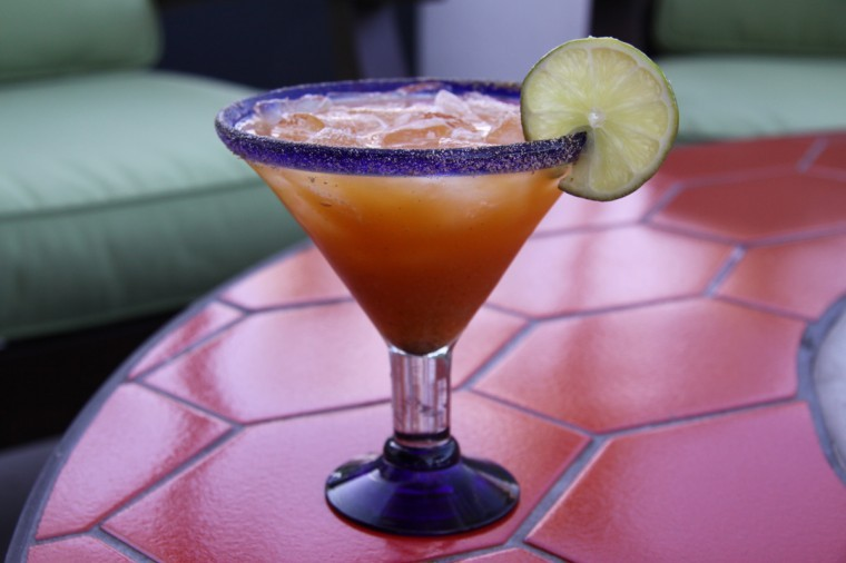 Pumpkin margarita  at TQLA