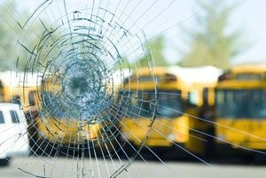 Windows smashed on 79 Scottsdale school buses