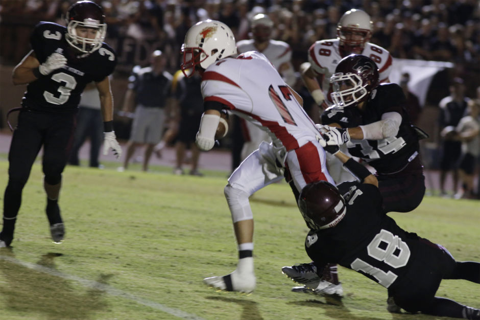 No. 13 Desert Mountain at No. 4 Desert Ridge
