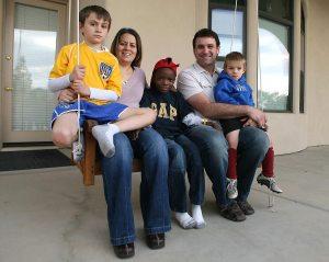 Amid chaos, family brings Haitian boy home