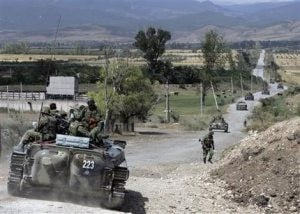 Russian forces still entrenched in Georgia