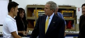 SLIDESHOW: President George W. Bush visits the East Valley