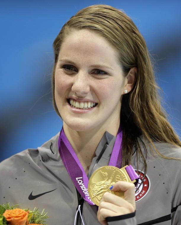 London Olympics Swimming Women