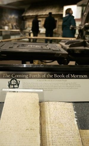Book of Mormon word change sparks debate