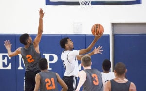 Mountain View, Hamilton basketball teams use showcase to improve