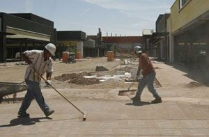 Gilbert-based shopping center coming together