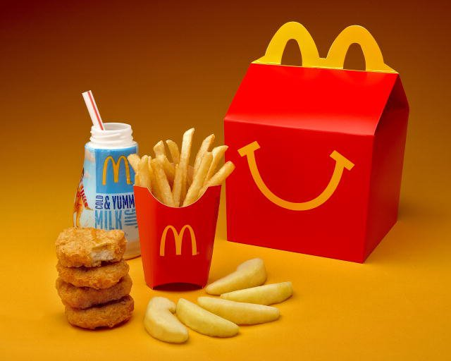McDonald's new Happy Meal