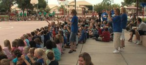 VIDEO: Students kick off year with Olympics spirit