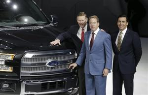 Bill Ford, Alan Mulally, Mark Fields