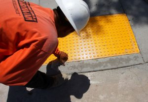 Mesa changes sidewalks to help visually impaired