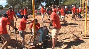 Volunteers, donations create Beverly Park