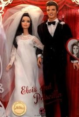 Elvis and Priscilla Barbies: A must have for fans