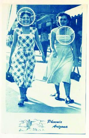 "<p>This work titled ""Sighting Mexicans In Phoenix"" is a cyanotype on paper by artist Annie Lopez. It will be part of the ""Hidden Histories in Latin American Art"" display at Phoenix Art Museum. [Courtesy Annie Lopez]</p>"