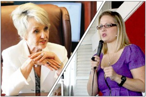 Jan Brewer, Kyrsten Sinema