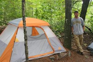 Homeless sex offenders directed to woods