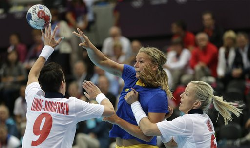 London Olympics Handball Women