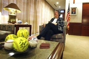 Gov. Napolitano at 50 looks forward, not back 