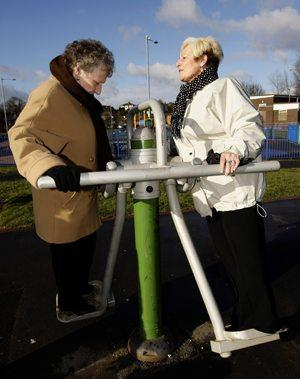 London to open 1st exercise area for seniors
