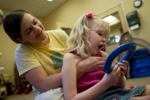 Parents' concern for kids leads to therapy centers
