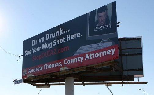 Ad critics rap county attorney's high profile