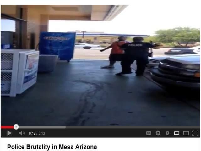 Mesa Police Arrest