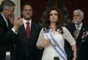 Fernandez becomes Argentina's president