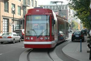 Modern streetcar