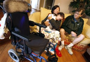 District, family feud over girl's broken legs