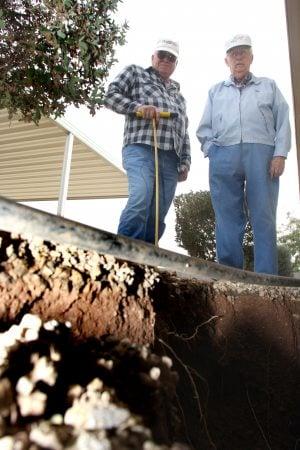 A.J. residents seek damages for sinkholes