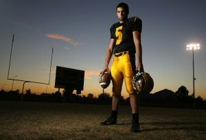 Tribune football player of the year: Tim Ruben, Saguaro