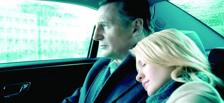 January Jones, Liam Neeson