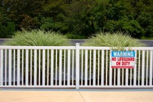 Pool fence