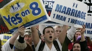 Calif. Supreme Court weighs gay marriage ban