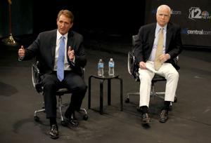 John McCain, Jeff Flake
