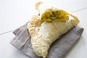 Food Deadline Curry Pockets