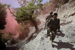 Ambush at Afghan school in 'Valley of Death'