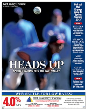 Cactus League Special Section Cover