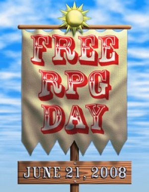 Nerdvana: Free RPG Day is just around the corner!