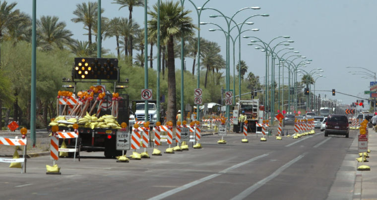 Light Rail/Road Construction