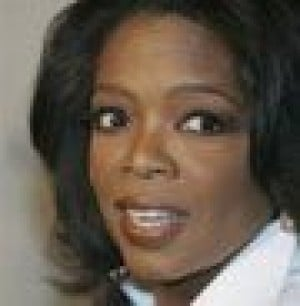 Oprah gives audience members debit cards