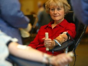 Blood drive launch a success