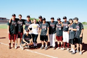 Charity softball