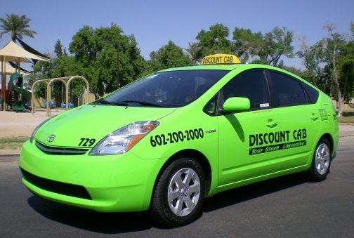Valley's Discount Cab goes 'green'