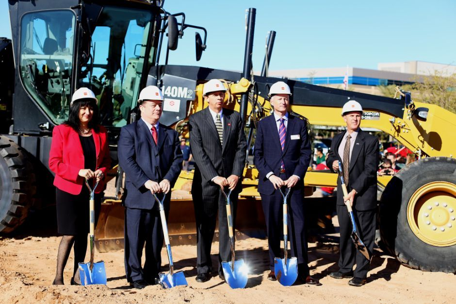Wells Fargo groundbreaking