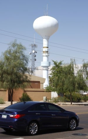 Falcon Field Water Tower