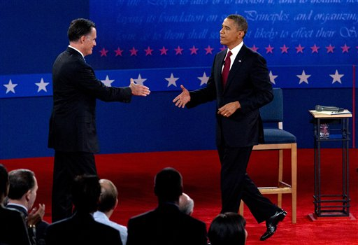 Barack Obama, Mitt Romney