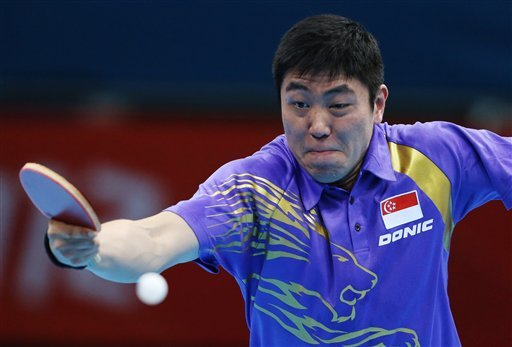 London Olympics Table Tennis Men