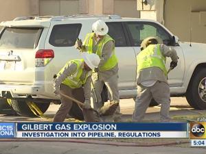 Gilbert gas explosion