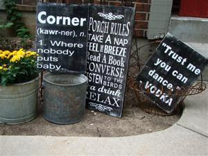 Crafts-Signage