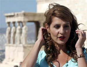 'Fat Wedding' star filming at Acropolis